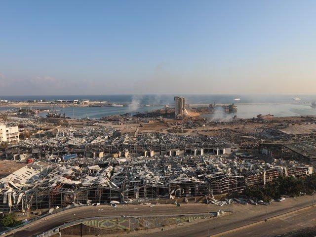 بیروت دھماکا 3 لاکھ افراد بے گھر، 5 ارب ڈالر کی املاک تباہ