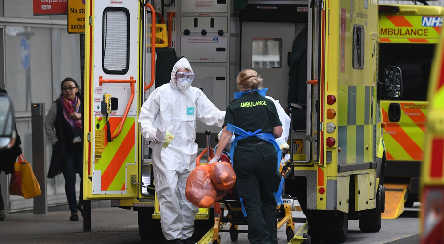 برطانیا میں کورونا وائرس پھرسراٹھانے لگا، مزید 55افراد ہلاک