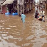 بارشوں سے سیلابی صورت حال ، دادو میں ندی نالے بپھر گئے