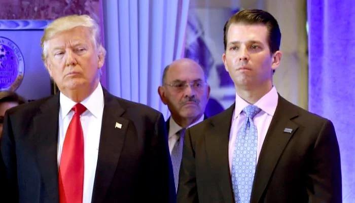 امریکی صدر ڈونلڈ ٹرمپ کا بڑا بیٹا کرونا کا شکار