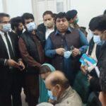 احتساب عدالت کے جج اور نیب وکیل کی شہباز سے والدہ کے انتقال پر تعزیت