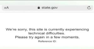 امریکی وزارت خارجہ کی ویب سائٹ ہیک،ٹرمپ کی مدت صدارت 11جنوری کو ختم ہونے کی پوسٹ لگادی گئی