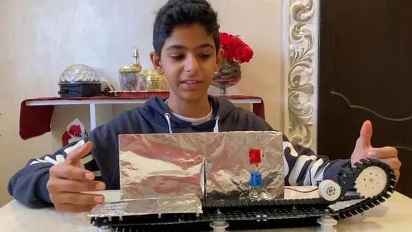 سعودی نوعمر لڑکے نے روبوٹ ٹیکنالوجی میں مسلسل تیسرا عالمی مقابلہ جیت لیا
