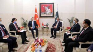 ترک وزیرخارجہ کے دورہ دفتر خارجہ کی تفصیلات جاری