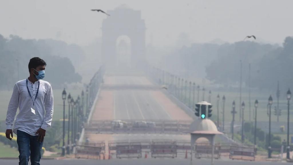 نئی دہلی میں فضائی آلودگی ،2020میں 54ہزار افراد لقمہ اجل بن گئے