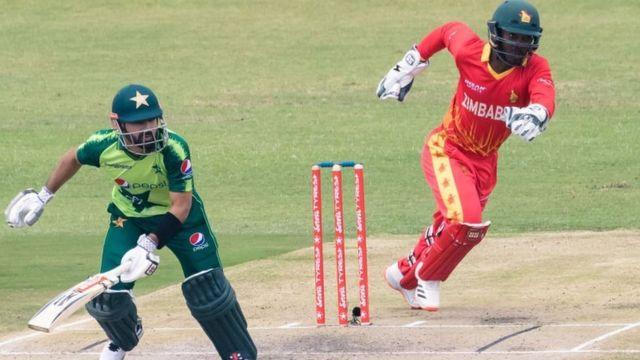 پاکستان نے زمبابوے کو پہلے ٹی20 میچ میں 11رنز سے شکست دے دی