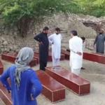 کوہاٹ کے پہاڑی علاقے بوبو خیل میں اجتماعی قبر سے 16 لاشیں برآمد