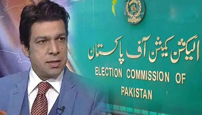 الیکشن کمیشن نے سینیٹر فیصل واوڈا کو نوٹس جاری کردیا