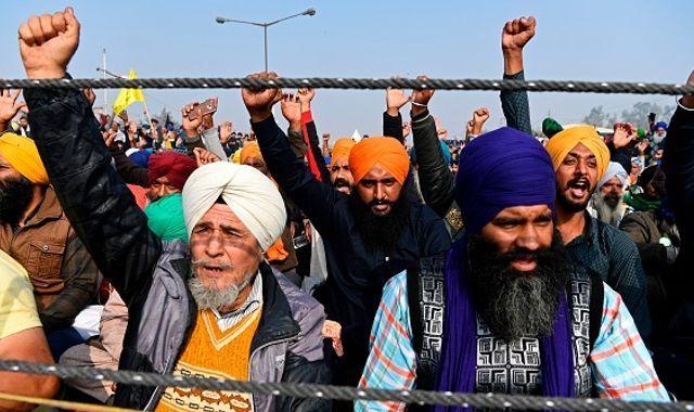 بھارتی کسانوں کا احتجاج ، ہریانہ کے نائب وزیر اعلیٰ کو مزاحمت کا سامنا