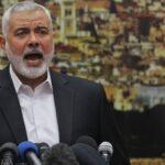 کراچی میں فلسطین مارچ ، حماس کے سربراہ اسماعیل ہانیہ کا خطاب
