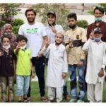 شاہد آفریدی کی کینسر میں مبتلا بچوں کے ساتھ کرکٹ کھیلنے کی تصاویر وال