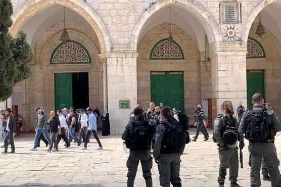 صہیونیوں کی پیغمبر اسلامؐ کی شان میں گستاخی، فلسطینی سراپا احتجاج