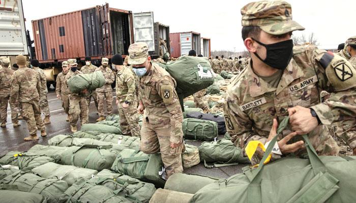 افغانستان سے انخلاء کا عمل پچاس فیصد مکمل