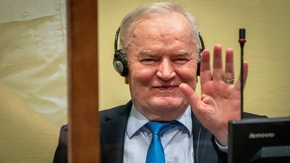 بوسنیا کے سفاک جنگی مجرم کی اپیل مسترد، تا حیات قید کی سزا برقرار