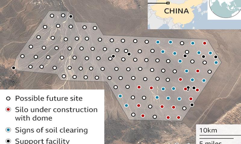 چین جوہری ہتھیار رکھنے کیلئے زیر زمین مزید گودام بنا رہا ہے ، امریکی سائنسدان