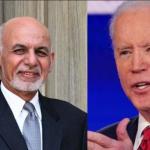 امریکی صدر ، افغان صدر کے درمیان رابطہ ، اشرف غنی کو مکمل تعاون کی یقین دہانی
