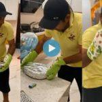 سرفراز احمد کی اہلیہ نے شوہر کی پاستہ بناتے ہوئے ویڈیو شیئر کردی، دلچسپ تبصرے