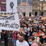 ویکسین کی زبردستی، فرانس میں مظاہرے