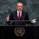 اردوان نے اقوام متحدہ کے اجلاس میں مسئلہ کشمیر اٹھادیا