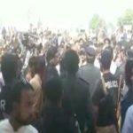 حیدرآباد، مختار کار کے گھر لاش ملنے پر ہنگامہ آرائی