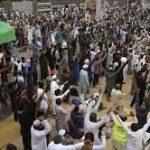 کالعدم تحریک لبیک پاکستان کا احتجاج ، وزارت داخلہ کی لاہورکے بعض علاقوں میں انٹرنیٹ بند کرنے کی ہدایت