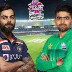 ٹی ٹوئنٹی ورلڈکپ مقابلوں میں پاکستان نے ایک بھارت نے پانچ میچ جیتے ، ایک برابر رہا