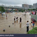 چین میں بارشوں نے تباہی مچادی،18لاکھ افراد متاثر